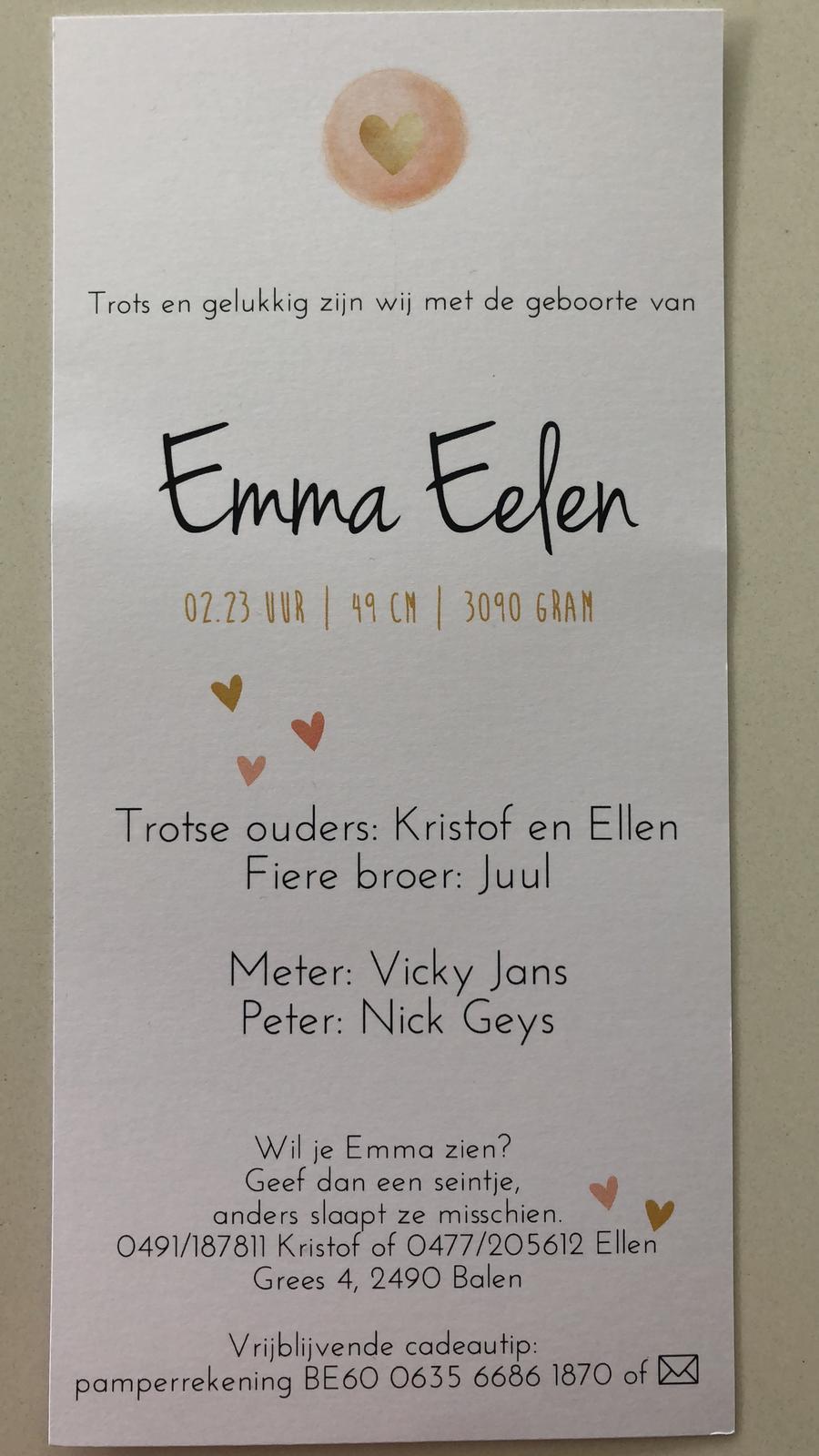 Emma Eelen